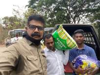 आरेच्या पालिका शिक्षकाची सामाजिक बांधिलकी;आदिवासी पाड्यांना केले जीवनावश्यक वस्तूंचे वाटप - Marathi News | Social commitment of the teacher Arey school; Distribution of essential commodities made to tribal famelies | Latest mumbai News at Lokmat.com