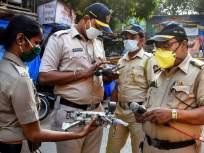 Coronavirus : ओशिवरा पोलीस ठाणे बनलेकोरोनाचा हॉटस्पॉट - Marathi News | Coronavirus: Oshiwara Police Thane has become a hotspot for coronavirus pda | Latest mumbai News at Lokmat.com