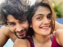 पाहा ईशा केसकर आणि ऋषी सक्सेनाचे रोमाँटिक फोटो, अशी सुरु झाली होती लव्हस्टोरी - Marathi News   See the romantic photo of isha keskar and rishi saxena,   Latest television Photos at Lokmat.com