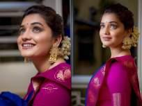 ऋता दूर्गुळेचे साडी मधले मनमोहक फोटो, फोटो पाहून फॅन्स झाले क्रेझी ! - Marathi News   Hruta Durgule's Saree Look Photos   Latest marathi-cinema Photos at Lokmat.com