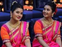 अभिनेत्री प्राजक्ता माळीने शेअर केले साडीतले फोटोशूट, नेटकरी पडले तिच्या प्रेमात! - Marathi News   Actress pajakta mali shared photoshoot in saree went viral on internet   Latest marathi-cinema Photos at Lokmat.com
