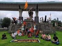 Maratha Reservation : मराठा समाज आक्रमक, मुंबईतील 'या' 18 ठिकाणी ठिय्या आंदोलन - Marathi News | Maratha Kranti Morcha protests at 18 places in Mumbai on Supreme Court's stay order | Latest mumbai News at Lokmat.com