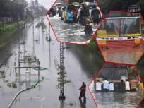 Mumbai Rain Updates : कोसळधारा! मुंबईची झाली तुंबई, तुफान पावसाने सर्वसामान्यांचे हाल; वाहतुकीचे तीनतेरा - Marathi News | Mumbai Rain Updates Normal life disrupted heavy rainfall triggers water logging | Latest mumbai Photos at Lokmat.com