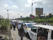 न भूतो! कळंबोली उड्डाणपुलावर विचित्र अपघात; एकाचवेळी 25 गाड्या आदळल्या - Marathi News | Bizarre accident on Kalamboli flyover; 25 cars collided simultaneously | Latest navi-mumbai News at Lokmat.com