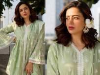 एथनिक ड्रेसमध्ये खूपच सुंदर दितसेय नेहा पेंडसे, फोटोंनी वेधलं चाहत्यांचे लक्ष - Marathi News | Actress neha pendse looks very beautiful in ethnic dress | Latest marathi-cinema News at Lokmat.com