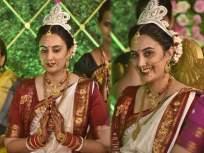 सई लोकुर अडकली लग्नबंधनात, लग्नाचा पहिला फोटो आला समोर - Marathi News | Sai Lokur ties the knot with Tirthadeep Roy, See Wedding Album | Latest marathi-cinema News at Lokmat.com