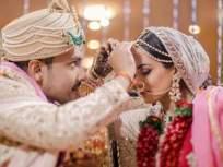 अभिनेत्री श्वेता अग्रवालसोबत लग्नाच्या बेडीत अडकल्यानंतर आदित्य नारायण म्हणाला- स्वप्न पूर्ण झालं - Marathi News | After getting engaged to actress shweta agarwal, aditya narayan said- the dream has come true | Latest television News at Lokmat.com