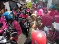 काय सांगता राव! पोरीने ऑनलाईन जेवण मागवलं, ४२ डिलिव्हरी बॉईज जेवण घेऊन पोहोचले, मग.... - Marathi News | What do you say Rao! Pori ordered food online, 42 delivery boys arrived with food, then .... | Latest jarahatke News at Lokmat.com