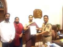 Pooja Chavan Suicide: मंत्री संजय राठोड यांच्यावर कारवाई करा; चित्रावाघ यांचे डीजीपींना निवेदन - Marathi News | Pooja Chavan Suicide: Take action against Minister Sanjay Rathod; Statement given by Chitra Wagh to DGP | Latest mumbai News at Lokmat.com