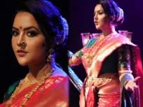 Amruta Fadnavis : 'कुणी म्हणाले वेडी कुठली, कुणी म्हणाले खुळी...'; अमृता फडणवीसांचं नवीन गाणं - Marathi News | Amruta Fadnavis new song on 8 march womens day | Latest maharashtra News at Lokmat.com