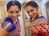 लाजरान साजरा मुखडा, चंद्रावानी खुलला गं, सोनाली कुलकर्णीचा व्हिडीओ पाहून तुम्हीही हेच म्हणाल - Marathi News | sonalee kulkarni share her news video on instagram | Latest marathi-cinema News at Lokmat.com