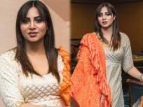 अभिनेत्रीला एअरपोर्टवर चाहता किस करुन गेला आणि दोनच दिवसांनी तिला कोरोनाचा संसर्ग झाला - Marathi News | Arshi khan tested Corona Positive 2 Days Back A Fan Kissed Her On Airport | Latest television News at Lokmat.com