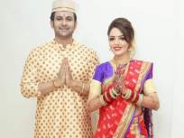 नऊवारी साडीमध्ये रुबाबदार दिसली भोसलेंची सून, सुगंधा मिश्राचा हा मराठमोळा अंदाज पाहून तुम्हीही म्हणाल 'लय भारी' - Marathi News | Sugandha Mishra looks pretty in a nauvari saree; hubby Sanket bhosle says, 'Mulgi Marathi shikli pragati zhaali' | Latest television Photos at Lokmat.com