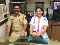 पोलीस पतीच्या निधनाच्या तिसऱ्या दिवसांपासून डॉक्टर पत्नीची सेवा सुरु - Marathi News | Police's Doctor wife started job on the third day of her husband's death | Latest crime News at Lokmat.com