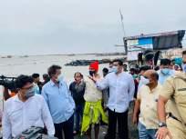 Cyclone Tauktae : मच्छिमार बांधवांना दिलासा, अस्लम शेख यांच्याकडून नुकसानग्रस्त भागाची पाहणी - Marathi News | Cyclone Tauktae: inspection of damaged area by Aslam Sheikh | Latest mumbai News at Lokmat.com