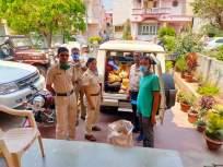 CoronaVirus: अत्यावश्यक वस्तू घरपोच; पोलिसांचा स्तुत्य उपक्रम - Marathi News | CoronaVirus in yavatmal police home delivers essential goods to citizens kkg | Latest yavatmal News at Lokmat.com