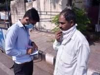विनामास्क असून दंड न भरल्याने महापालिका कंत्राटदाराकडून मारहाण - Marathi News | Beating by a municipal contractor for not paying the fine of without mask | Latest crime News at Lokmat.com