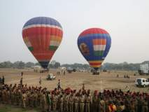 भारतीय लष्कराचे 'जय भारत' हॉट एअर बलून अकोल्यात!