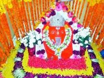 सिद्धिविनायक मंदिरात फुलांची आरास