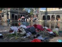 छटपुजेनंतर गोदाघाटावर कचऱ्याचे साम्राज्य