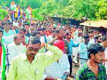 Maharashtra Election 2019 ; विजय वडेट्टीवारांच्या रॅलीची ब्रह्मपुरी क्षेत्रात चर्चा