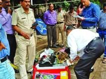 अहमदाबाद-हावडा एक्स्प्रेसमध्ये बेवारस बॅग आढळल्याने खळबळ