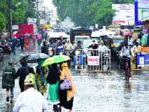 जिल्ह्यात गतवर्षीपेक्षा ७७.३ टक्के जादा पाऊस