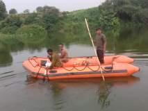 बोरगाव येथील गिरिजा नदीत युवक गेला वाहून