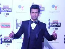 सूट बूट में आया सिद्धू! फिल्मफेअर पुरस्कार सोहळ्यात मराठमोळ्या सिद्धार्थ जाधवचा जलवा!!