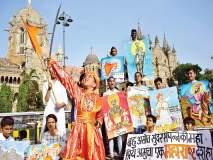 मुंबापुरीत 'महाराष्ट्र दिना'चा गजर