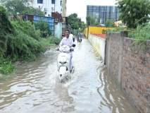 अहमदनगर शहर झाले जलमय : पाहा फोटोमधून