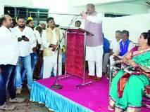 Maharashtra Election 2019 ; चंद्रपूर जिल्ह्याचा सर्वांगीण विकास हेच आपले ध्येय