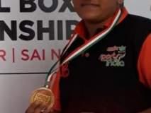 शर्वरी भारतीय बॉक्सिंग संघात