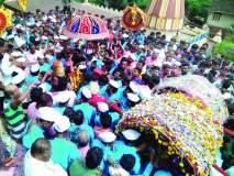 रत्नागिरीत भेट झाली हो देवांची.. श्रीदेव भैरव - काशीविश्वेश्वर भेटीचा सोहळा