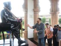 सनी देओलने दिली नागपुरात स्मृती मंदिराला भेट