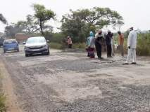 'लोकमत' च्या वृत्तानंतर अखेर सोलापूर-बार्शी रस्त्याची दुरुस्ती झाली सुरू