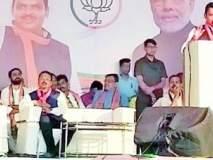 Maharashtra Election 2019 : आघाडी सरकारचा पैसा दलालांच्या खिशात