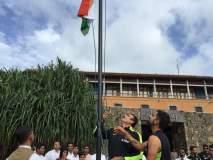 भारतीय संघाने दिल्या देशवासियांना स्वातंत्र्य दिनाच्या शुभेच्छा, पाहा व्हिडीओ