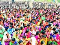 Maharashtra Election 2019 ; राहुल गांधींच्या सभेला जनसागर