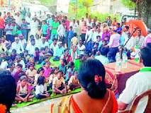 Maharashtra Election 2019 ; घोषणाबाज सरकारला जनताच धडा शिकविणार