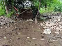 निम्न ज्ञानगंगाच्या 'बॅकवॉटर'मुळे दिवठाणा येथील १५ घरेबाधित