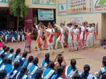 अमळनेर : द्रौ.रा. कन्याशाळेत हिंदी दिवस साजरा