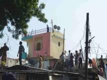 पोलिस बंदोबस्तात वीज चोरांवर धडक कारवाई
