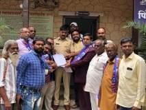 दिल्लीतील मंदिर पाडल्याच्या निषेधार्थ बसपा निफाड यांचे पोलिसांना निवेदन