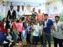 राष्ट्रीय फिल्ड इनडोअर तिरंदाजी स्पर्धा :महाराष्ट्र आणि पोयसर जिमखान्याचा धमाका