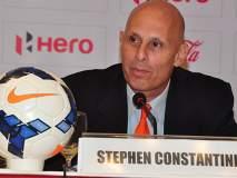 फुटबॉल प्रशिक्षक कॉन्स्टेनटाईन यांचा राजीनामा