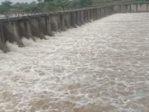 केदारखेडा कोल्हापुरी बंधाऱ्यातून ५५०० क्युसेसने पाण्याचा विसर्ग