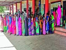 महाराष्ट्र निवडणूक २०१९ : इंदापूर, बारामतीसह सर्वत्र उत्साहात मतदान