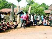 Maharashtra Election 2019 ; अशिक्षित आदिवासींनी दाखविला पुन्हा एकदा लोकशाहीवर विश्वास