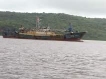 दाभोळ खाडीतील चिनी नौका परतीच्या मार्गावर